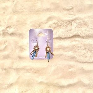 Claire's sensitive solution drop earrings